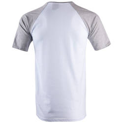 Thug Life - NY Gri & Beyaz T-shirt - Thumbnail
