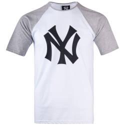 Thug Life - Thug Life - NY Gri & Beyaz T-shirt