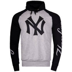 Thug Life - Thug Life - NY Yankees Gri Hoodie