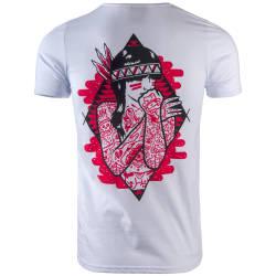 Thug Life - Revolation Beyaz T-shirt - Thumbnail
