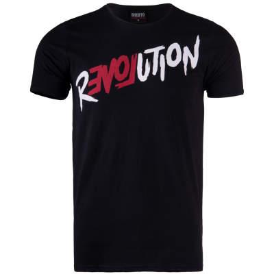Thug Life - Revolation Siyah T-shirt