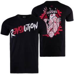 Thug Life - Revolation Siyah T-shirt - Thumbnail