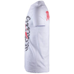 Thug Life - Tattoo Lover Beyaz T-shirt - Thumbnail
