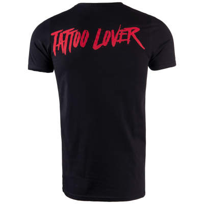 Thug Life - Tattoo Lover Siyah T-shirt