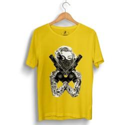 HH - Thug Marilyn Sarı T-shirt - Thumbnail