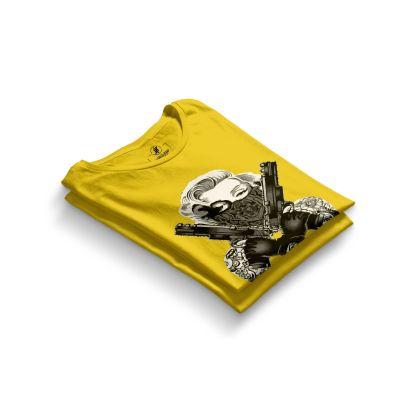 HH - Thug Marilyn Sarı T-shirt