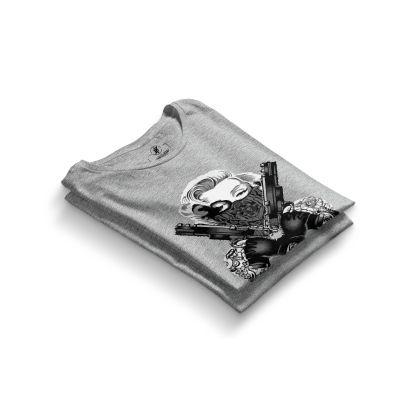 HH - Thug Marilyn Gri T-shirt