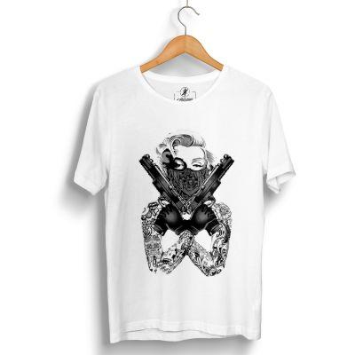 HH - Thug Marilyn Beyaz T-shirt