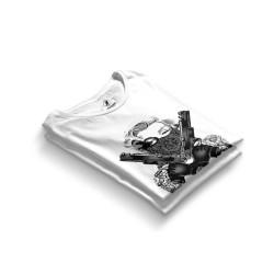 HH - Thug Marilyn Beyaz T-shirt - Thumbnail