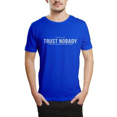 HH - Trust Nobady 2 Mavi T-shirt