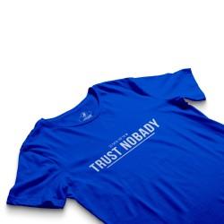 HH - Trust Nobady 2 Mavi T-shirt - Thumbnail