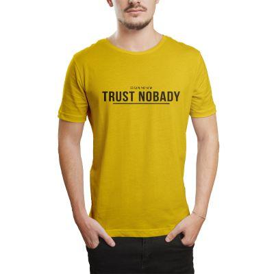 HH - Trust Nobady 2 Sarı T-shirt