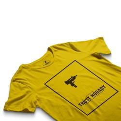 HH - Trust Nobady Sarı T-shirt - Thumbnail