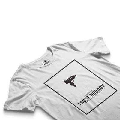 HH - Trust Nobady Beyaz T-shirt