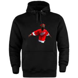HH - Tupac Red Style Cepli Hoodie - Thumbnail