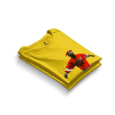 HH - Tupac Red Style Sarı T-shirt