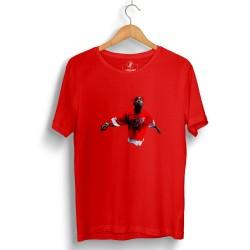 HH - Tupac Red Style Kırmızı T-shirt - Thumbnail