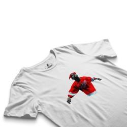 HH - Tupac Red Style Beyaz T-shirt - Thumbnail