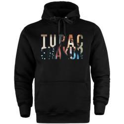 HH - Tupac Shakur Cepli Hoodie - Thumbnail