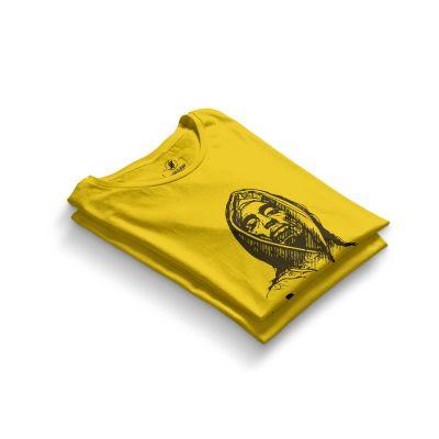 HH - Tupac Portre Sarı T-shirt