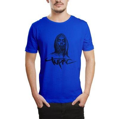 HH - Tupac Portre Mavi T-shirt
