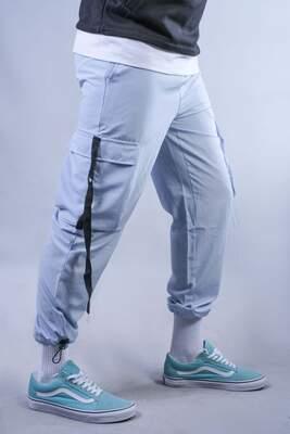 HH - Turkuaz Paraşüt Kumaş Jogger