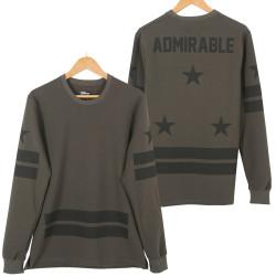 Two Bucks - Admirable Haki Sweatshirt - Thumbnail