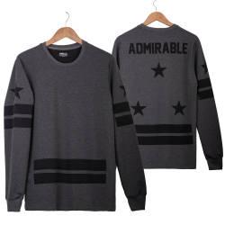 Two Bucks - Admirable Antrasit Sweatshirt - Thumbnail
