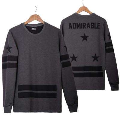 Two Bucks - Admirable Antrasit Sweatshirt