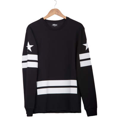 Two Bucks - Admirable Siyah Sweatshirt