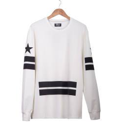 Two Bucks - Two Bucks - Admirable Krem Sweatshirt