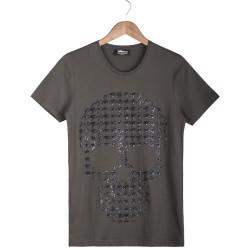 Two Bucks - Two Bucks - Dots Skull Haki T-shirt
