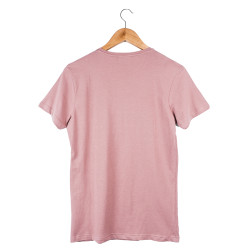 Two Bucks - Dots Skull Pembe T-shirt - Thumbnail