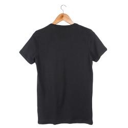 Two Bucks - Dots Skull Siyah T-shirt - Thumbnail