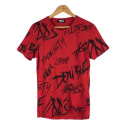 Two Bucks - Two Bucks - Double Against Kırmızı T-shirt