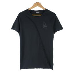 Two Bucks - Two Bucks - LA Baskılı Siyah T-shirt