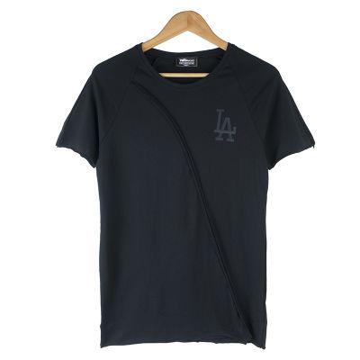 Two Bucks - LA Baskılı Siyah T-shirt