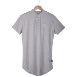 Two Bucks - Two Bucks - L.A. Puantiyeli Gri T-shirt
