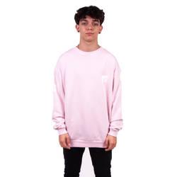 Two Bucks - Two Bucks - MTV Oversize Açık Pembe Sweatshirt