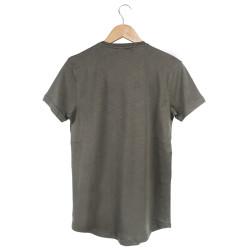 Two Bucks - Never Look Back Haki T-shirt - Thumbnail