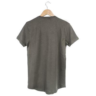 Two Bucks - Never Look Back Haki T-shirt