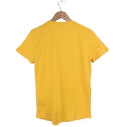 Two Bucks - Never Look Back Sarı T-shirt - Thumbnail