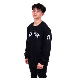 Two Bucks - New York Siyah Sweatshirt - Thumbnail