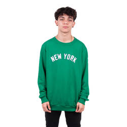 Two Bucks - Two Bucks - New York Yeşil Sweatshirt
