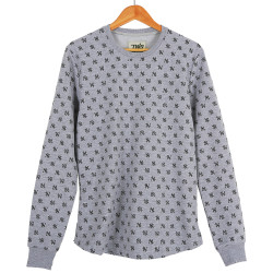Two Bucks - Two Bucks - NY Little Logo Gri Sweatshirt