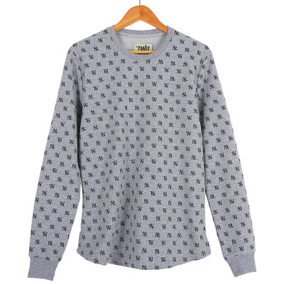 Two Bucks - NY Little Logo Gri Sweatshirt