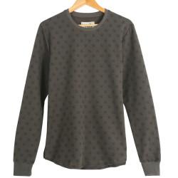 Two Bucks - Two Bucks - NY Little Logo Haki Sweatshirt