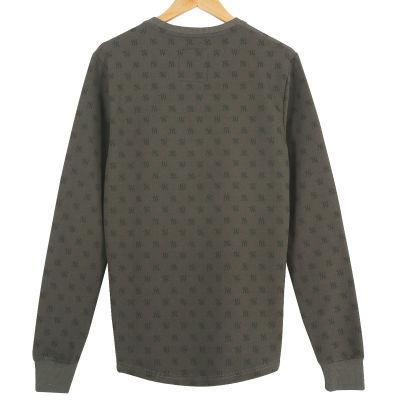 Two Bucks - NY Little Logo Haki Sweatshirt