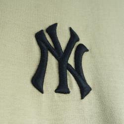 Two Bucks - NY Nakışlı Haki T-shirt - Thumbnail
