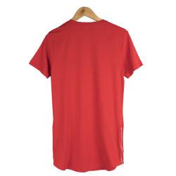 Two Bucks - NY Nakışlı Kırmızı T-shirt - Thumbnail
